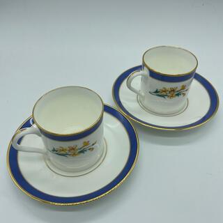 ティファニー(Tiffany & Co.)のティファニーデミタスカップ&ソーサー(グラス/カップ)