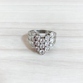 pt900  プラチナ ダイヤモンドリング 1ct  指輪 リング(リング(指輪))