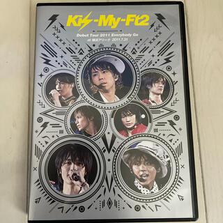 キスマイフットツー(Kis-My-Ft2)のKis-My-Ft2 Debut Tour 2011  DVD(ミュージック)