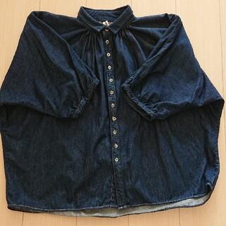 ドミンゴ(D.M.G.)のブロカントコットンデニムグランシャツ (シャツ/ブラウス(長袖/七分))