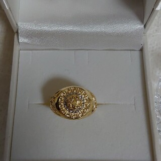 silver925 ゴールドリング『鷹』(リング(指輪))