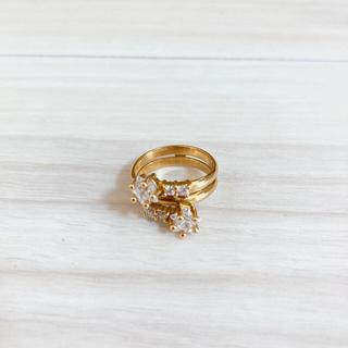 スタージュエリー(STAR JEWELRY)のリング 指輪 K18 ピンキーリング  スタージュエリー  3.5g  3号(リング(指輪))