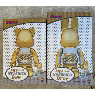 メディコムトイ(MEDICOM TOY)のMY FIRST NY@BRICK R@BBRICK Gold Ver セット☆(その他)