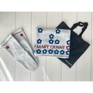 マリークワント(MARY QUANT)のマリークワント  フリースブランケット 新品未使用(おくるみ/ブランケット)