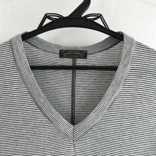 長袖Tシャツ Vネック