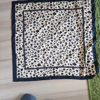 ジーユー(GU)のジーユー GU レオパードスカーフ(バンダナ/スカーフ)