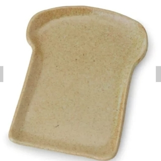 スタディオクリップ(STUDIO CLIP)の値下げしました☺️新品 お皿2枚セット パンの形 スタジオクリップ(食器)
