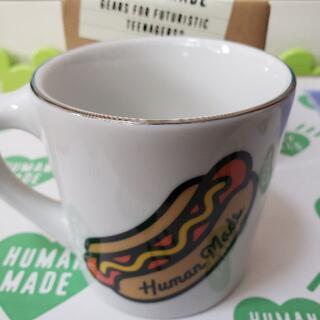 アベイシングエイプ(A BATHING APE)のHUMAN MADE MUG CUP - WHITE(グラス/カップ)