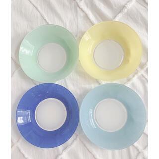 ロンハーマン(Ron Herman)のロンハーマン デュラレックス ガラス食器 4枚セット(食器)