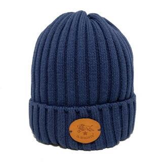 イルビゾンテ(IL BISONTE)のイルビゾンテ ニット帽 54172304183 綿×麻(ニット帽/ビーニー)