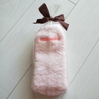 カシウエア(kashwere)のkashere カシウェア ソックス 靴下 ピンク 新品未使用(ルームウェア)