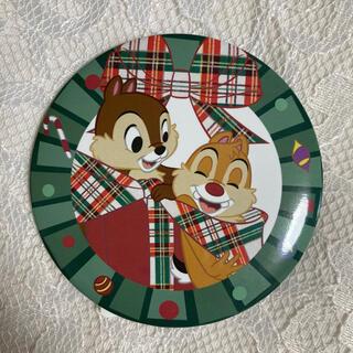 チップアンドデール(チップ&デール)のチップとデール クリスマス 缶バッジ ディズニーストア(バッジ/ピンバッジ)