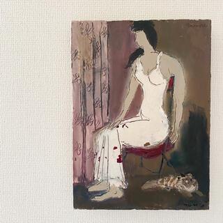 イデー(IDEE)の白衣の女(絵画/タペストリー)