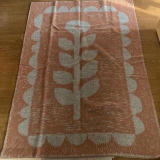 クリッパン(KLIPPAN)のKLIPPAN mina perhonen ウールブランケット シングルサイズ(毛布)