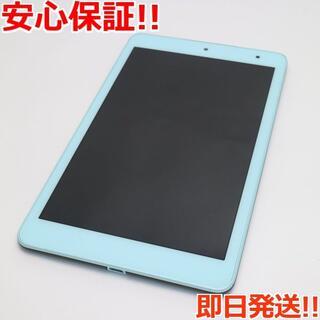 キョウセラ(京セラ)の美品 KYT32 Qua tab QZ8 チョコミント (タブレット)