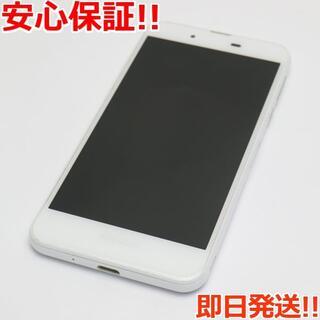 アクオス(AQUOS)の美品 SH-02J AQUOS EVER ホワイト (スマートフォン本体)