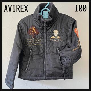 アヴィレックス(AVIREX)のAVIREX アヴィレックス キッズ刺繍ジャケット 100(ジャケット/上着)