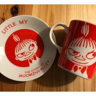リトルミー(Little Me)の☘ムーミン リトルミィ♫マグカップ&小皿☘(グラス/カップ)