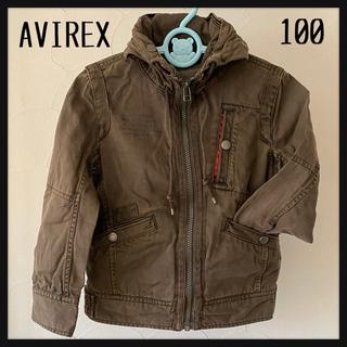 アヴィレックス(AVIREX)のAVIREX アヴィレックス キッズカーキー ミリタリージャケット100(ジャケット/上着)