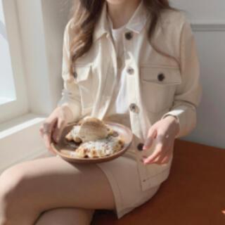 ゴゴシング(GOGOSING)のdejou  ステッチクロップドジャケット 韓国通販 ジャケット デニム(Gジャン/デニムジャケット)