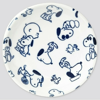 ユニクロ(UNIQLO)のピーナッツ × 長場雄 コラボスヌーピー豆皿 ユニクロ(食器)
