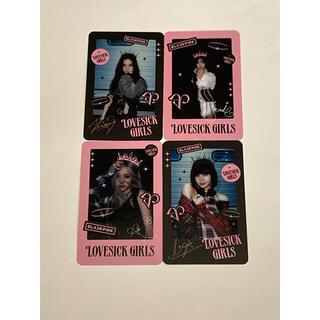 ラスト1点 BLACKPINK 購入特典 カード(アイドルグッズ)