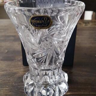 ボヘミア クリスタル(BOHEMIA Cristal)のボヘミアングラス 花瓶(花瓶)