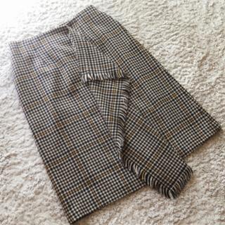マルティニークルコント(martinique Le Conte)のマルティニーク ウールスカート♡(ひざ丈スカート)