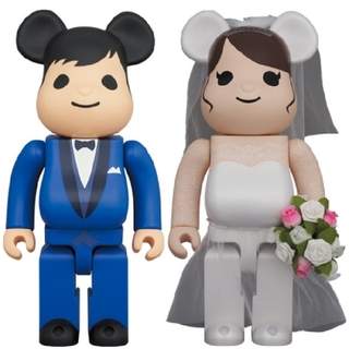 BE@RBRICK グリーティング結婚 4 PLUS 400% & 100%(フィギュア)