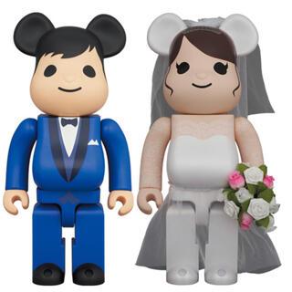 BE@RBRICK グリーティング結婚 4 PLUS 100% 400% セット(その他)