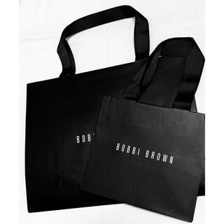 ボビイブラウン(BOBBI BROWN)の【未使用】ボビイブラウン ショップ袋 2枚(ショップ袋)