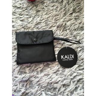 カルディ(KALDI)の新品未使用 カルディ エコバッグ ブラック(エコバッグ)