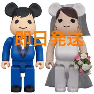 BE@RBRICK グリーティング結婚 4 PLUS 400% & 100%(キャラクターグッズ)
