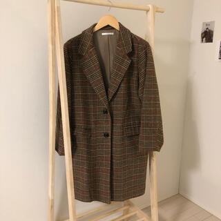 RETRO GIRL - 【値下げ交渉可能】check coat