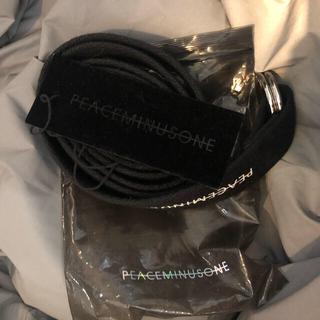 PEACEMINUSONE - peaceminusone 正規品 ベルトPMO O-RING BELT #1