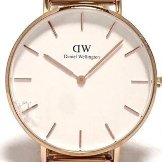 ダニエルウェリントン(Daniel Wellington)のダニエルウェリントン 腕時計 K35RW01 白(腕時計)