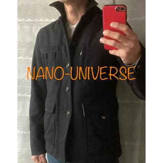 ナノユニバース(nano・universe)の【NANO-UNIVERSE】ミリタリージャケット, Size:38(ミリタリージャケット)