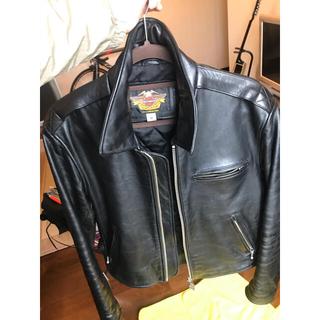 ハーレーダビッドソン(Harley Davidson)のハーレーダビッドソン レザー、ライダースジャケット(レザージャケット)