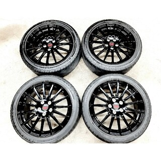 スバル(スバル)のスバル レヴォーグ 純正 OP STI 18インチホイール タイヤ 4本セット(タイヤ・ホイールセット)