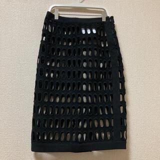 モスキーノ(MOSCHINO)のMOSCHINO COUTURE スカート 90%オフ(ひざ丈スカート)