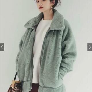 GRL - ♡新品♡ベルトカラーボアジャケット グリーン
