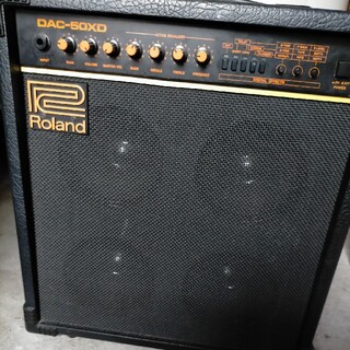 ローランド(Roland)のRoland dac-50 XD ローランド ギターアンプ エフェクター 内蔵(ギターアンプ)
