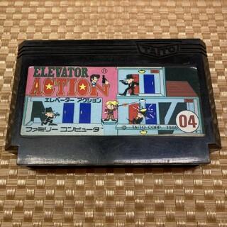 タイトー(TAITO)のFC ファミコン ソフト カセット エレベーターアクション 他にも多数出品中♪(家庭用ゲームソフト)