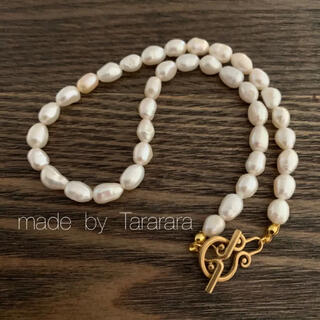 ●handmade Perl necklace●(ネックレス)