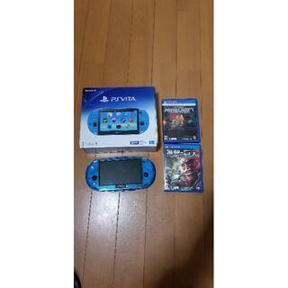 【決済用様専用】PlayStation vita 外箱と本体のみ(携帯用ゲーム機本体)