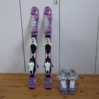 アトミック(ATOMIC)のキッズ スキー板 2点セット(板)