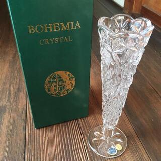 ボヘミア クリスタル(BOHEMIA Cristal)のボヘミアクリスタル クリスタルガラス 花瓶 フラワーベース ガラス花瓶 花器(花瓶)