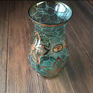 ボヘミア クリスタル(BOHEMIA Cristal)のボヘミアクリスタル 花瓶 フラワーベース 花器 クリスタルガラス(花瓶)