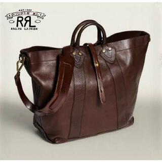 ダブルアールエル(RRL)の【新品】RRL Vintage Leather Tote OS(トートバッグ)