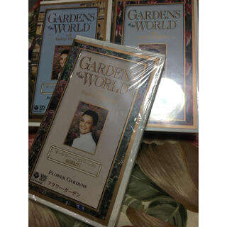 コロンビア(Columbia)の【VHS】オードリー・ヘップバーンの庭園紀行3つセット(趣味/実用)